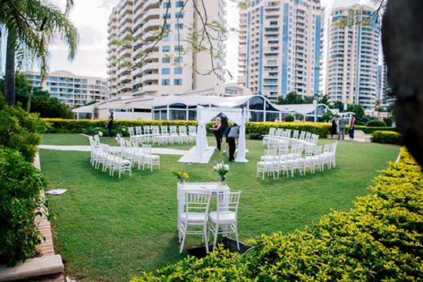 Circular Wedding Ceremony Layout