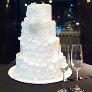 Cake With Large Sugar Flower
