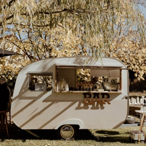 Caravan wedding bar