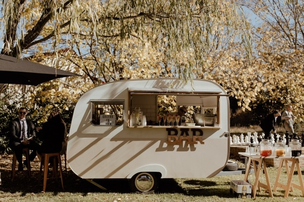 Caravan wedding bar