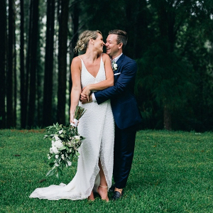 Byron Bay wedding couple