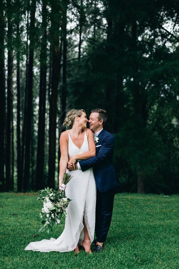 Byron Bay wedding couple