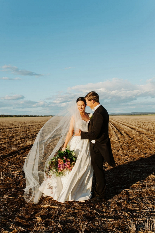 Australian Country Wedding Photo