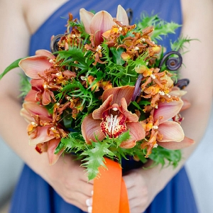 Orange Tropical Bouquet