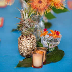 Hawaiian Table Settings
