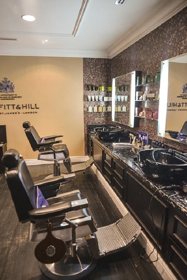 Trueffit & Hill Men's Grooming Room