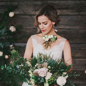 Rustic Chic Bride Style