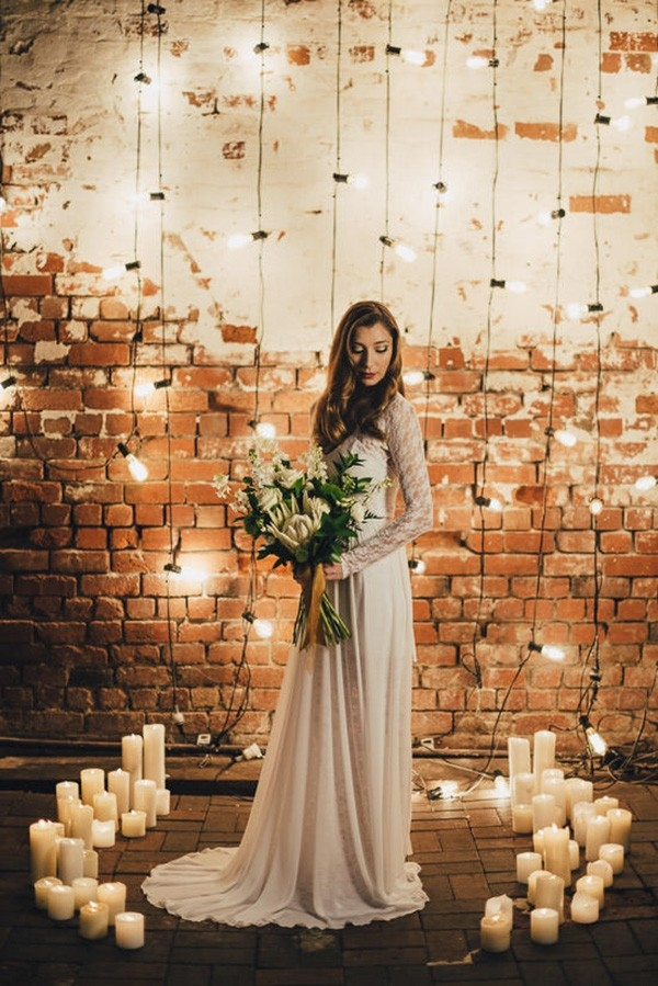 Industrial Candlelit Wedding Inspiration