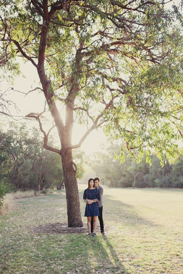 Inner City Park Engagement Shoot
