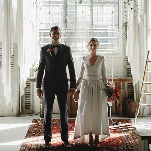 Antique Warehouse Brisbane Wedding