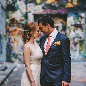 Melbourne Laneway Wedding Photo