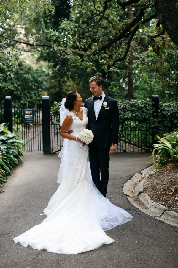 Classic Bride And Groom Portrait