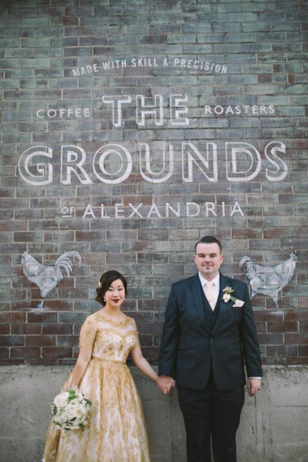 The Grounds Of Alexandria Wedding