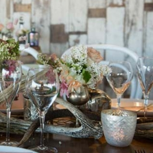 Rustic Lakehouse Tablescape