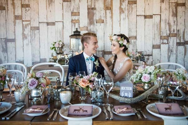 Lake House Wedding Tablescape