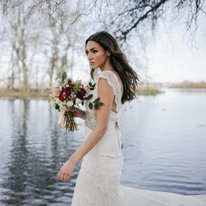 Bride at Lakeside