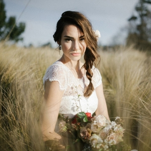 Sunshine Bridal Portrait