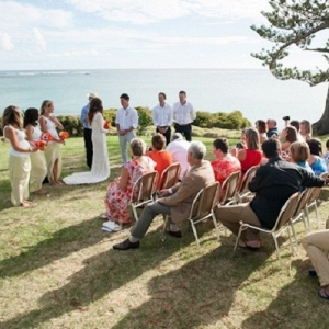 Wedding Ceremony at Lover's Bay on Lord Howe Island