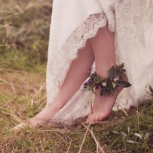 Ankle Corsage Of Jasmine