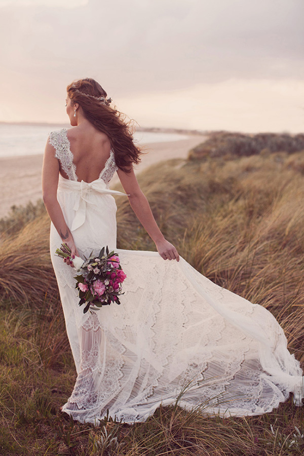 Luxe Bride On Beach