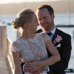 Newlyweds At Watsons Bay