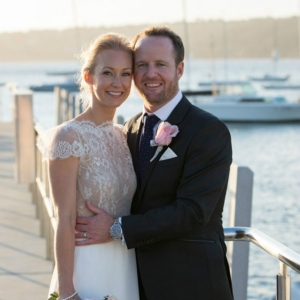 Bride & Groom At Watsons Bay