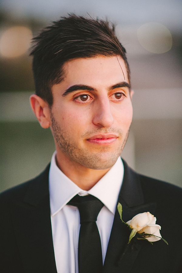 Groom With Black Tie