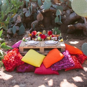 A Fiesta Inspired Wedding Reception