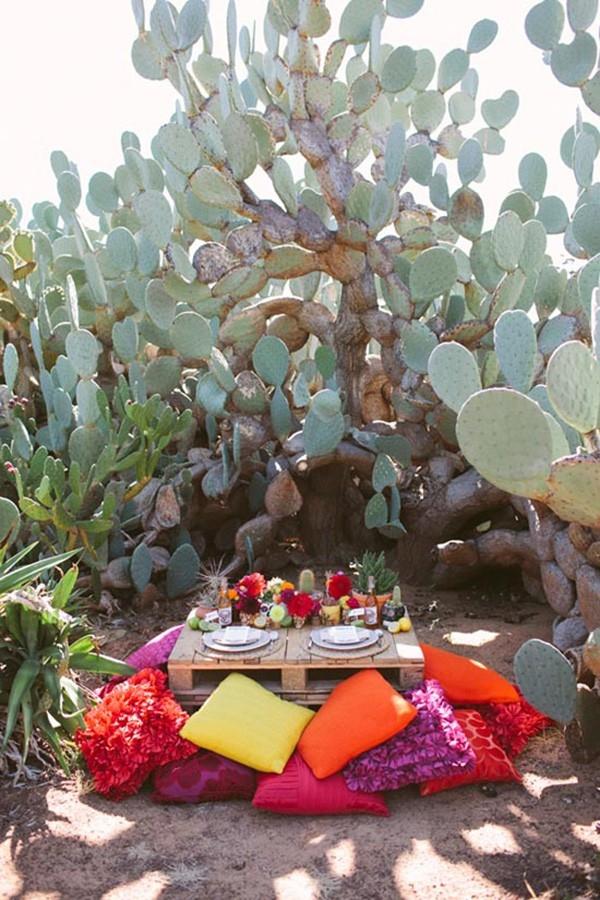 A Fiesta Inspired Wedding Reception