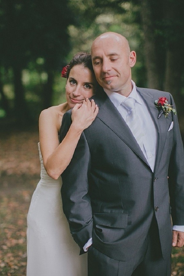 Newlyweds At Australian Bushland Wedding