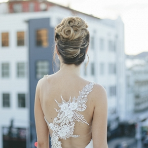 Chic Wedding Hairstyle