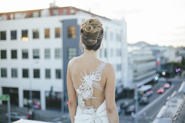 Chic Wedding Hairstyle
