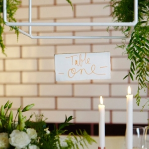 Underground Restaurant Wedding Details
