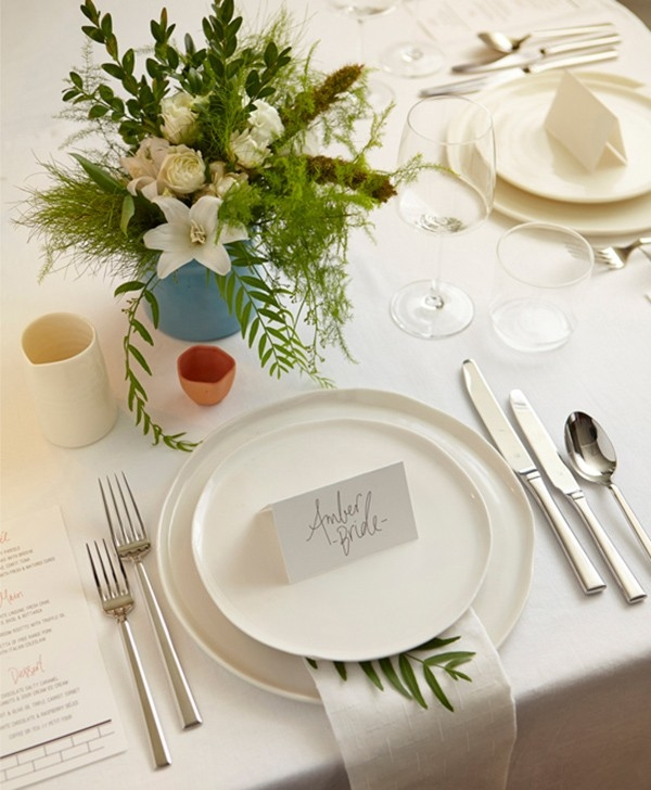 Modern Wedding Decor Idea