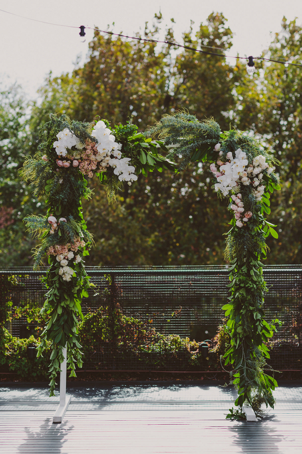 Outdoor Floral Arch