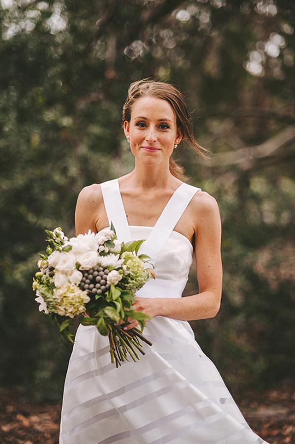 Bride In Modern Dress