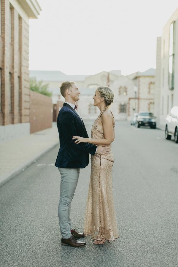Modern Industrial Fremantle Wedding