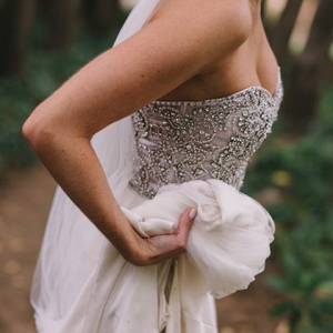 Beaded Rachel Gilbert Dress