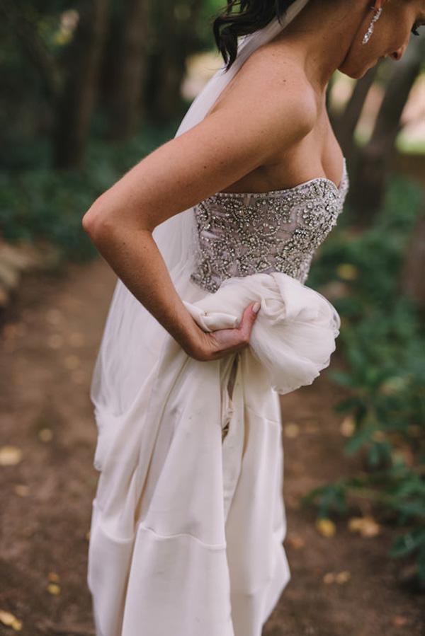 Beaded Rachel Gilbert Dress