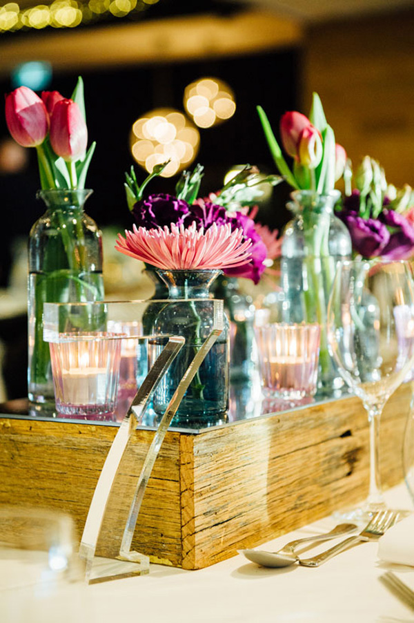 Modern Centerpiece With Perspex