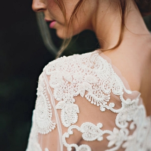 Lace Wedding Top