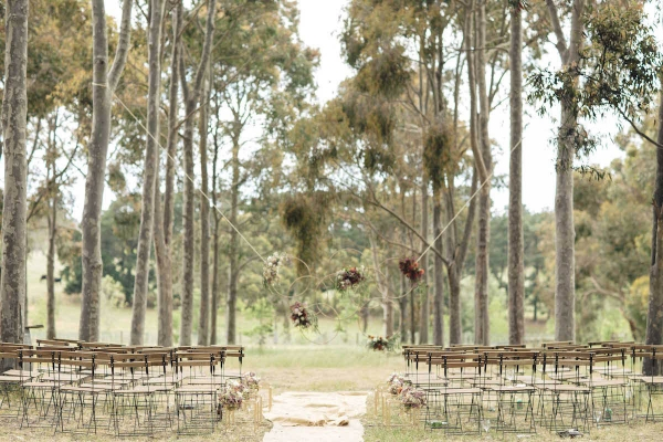 Outdoor Rustic Barn Wedding