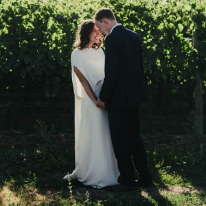 Modern Vineyard Jewish Wedding