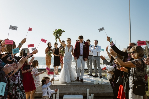 Waterside ceremony