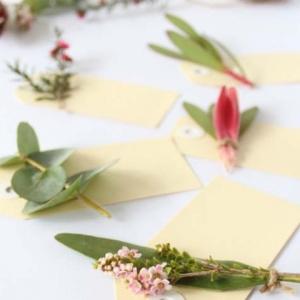 Botanical Placecard Tutorial
