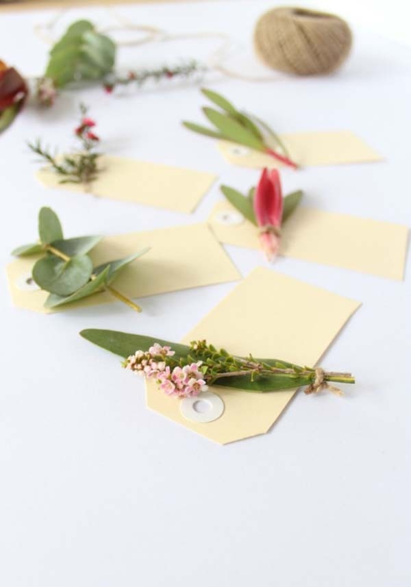 Botanical Placecard Tutorial