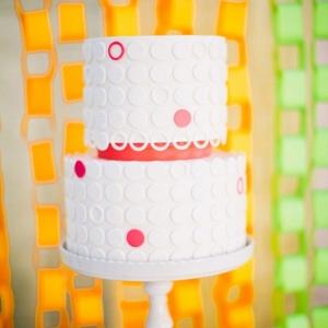Neon Wedding Cake