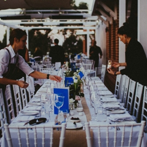 Resaturant Wedding Tablescape