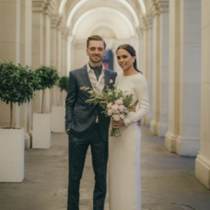 Melbourne Newlyweds At Modern Wedding