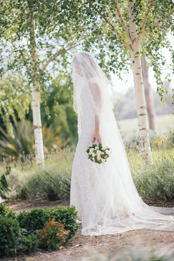 Bride With Classic Veil